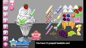 Screenshot of Super Sundae Maker Lite
