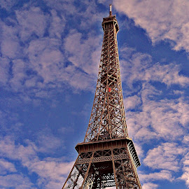 eiffel beauty by Dobrin Anca - Landscapes Travel ( playing, paris, sky, day, tour )