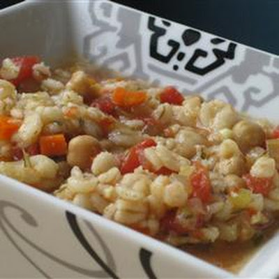 Beaker's Vegetable Barley Soup