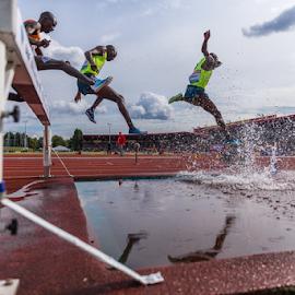 IAAF Diamond League Birmingham - 2014 by Toyin Oshodi - Sports & Fitness Running ( field, athletics, prix, grand, track, sport )