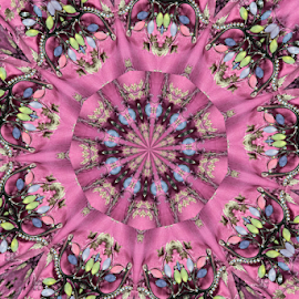 by Dipali S - Digital Art Abstract ( abstract, pattern, background, digital manipulation, pink )