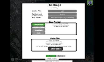 Screenshot of Flightgear Map Pro Lite