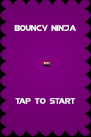 Screenshot of Bouncy Ninja