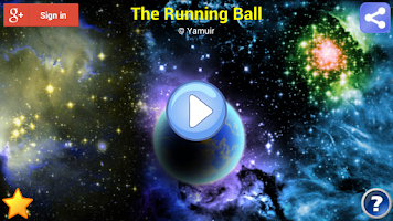 Screenshot of The Running Ball