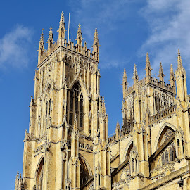 York Minster by Lynnie Keathley - Buildings & Architecture Places of Worship
