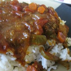 Slow Cooker Sloppy Swiss Steak