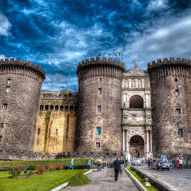 The Castle by Alessandro Minervini - Buildings & Architecture Public & Historical ( canon, naples, europe, napoli, castello, castle, europa, italy,  )