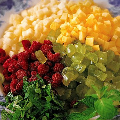 Diced Fresh Fruit Salad