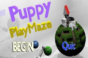 Screenshot of Puppy Play Maze