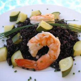 Black Rice And Shrimp Recipes