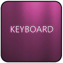 Pink Glass Keyboard Skin icon