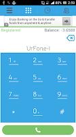 Screenshot of UrFone