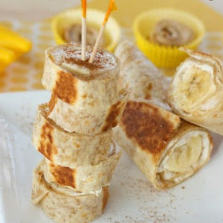 Warm Banana Roll-Ups