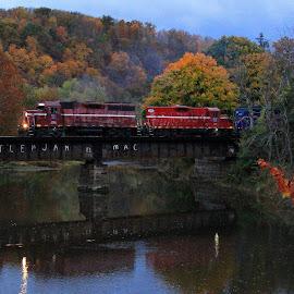 by Matt Carrick - Transportation Trains (  )