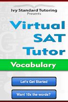 Screenshot of Virtual SAT Tutor - Vocabulary