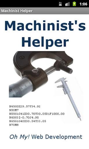 Machinists Helper