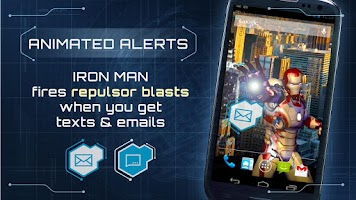 Screenshot of Iron Man 3 Live Wallpaper