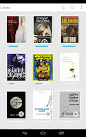 Screenshot of Kobo Books