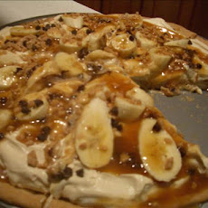 Banana Toffee Pizza