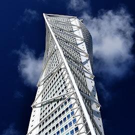 Home-sail by Eugenija Seinauskiene - Buildings & Architecture Homes ( home, sweden, sky, malmö, cloud )
