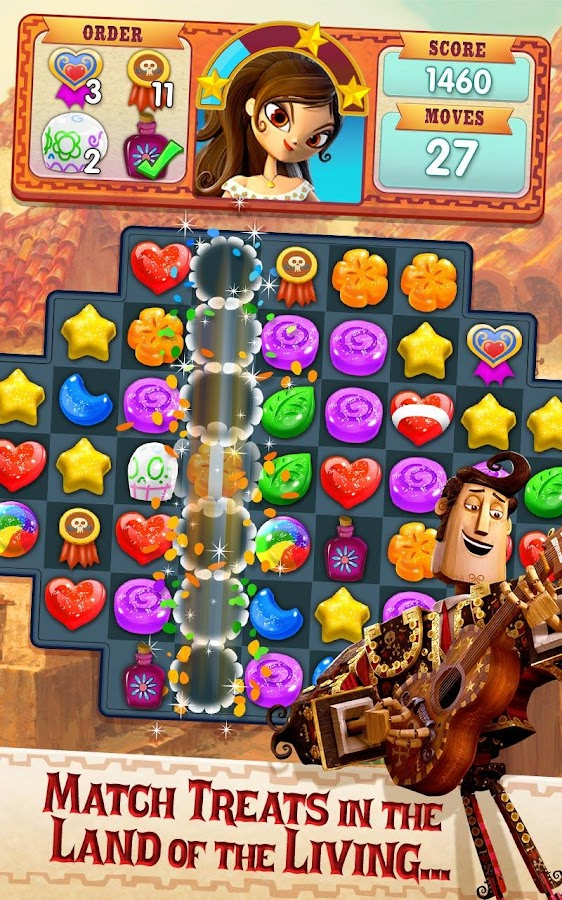 Sugar Smash: Book of Life - Free Match 3 Games Screenshot 6
