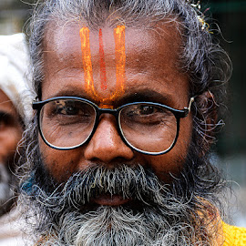 Swami Chaturbhuj by Rakesh Syal - People Portraits of Men