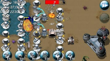 Screenshot of Nexus Defense: Desert Storm