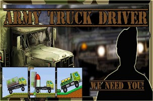 Screenshot of Army transport truck driver
