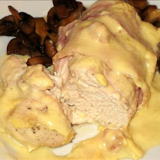 Chicken With Bacon Cream Sauce
