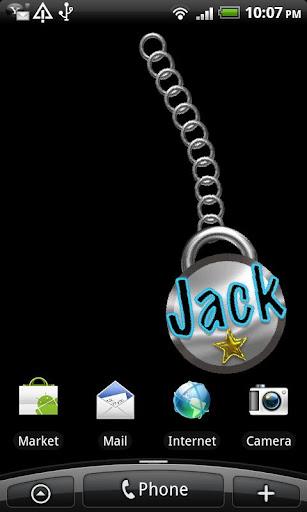 Jack Name Tag