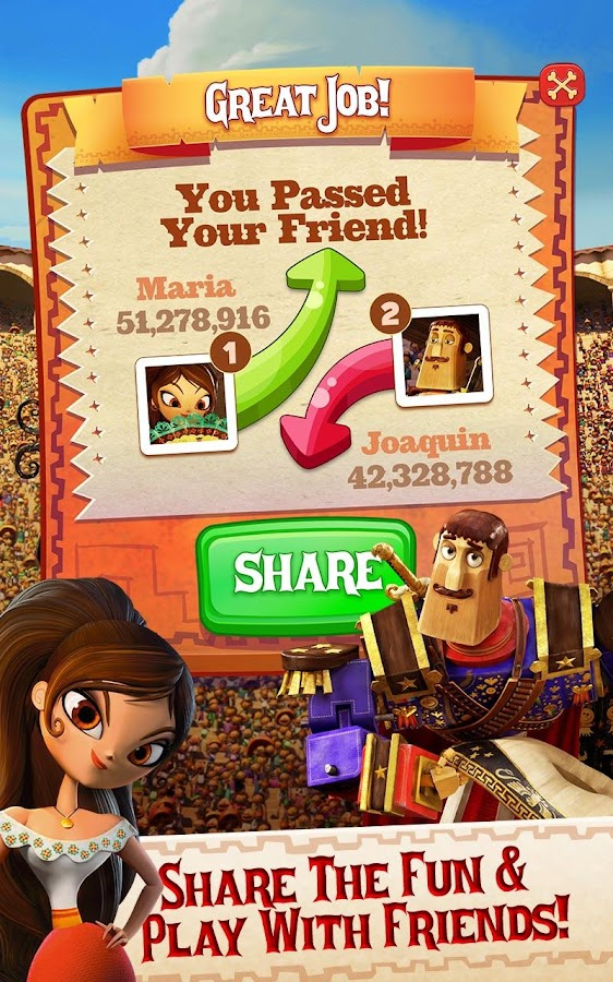 Sugar Smash: Book of Life - Free Match 3 Games Screenshot 15