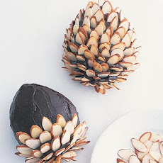 Chocolate Frosting for Pinecone Cake
