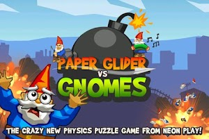 Screenshot of Paper Glider vs. Gnomes