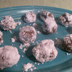 Chocolate Peanut Butter Snowballs