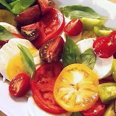 Tomato, Mozzarella, and Basil Salad