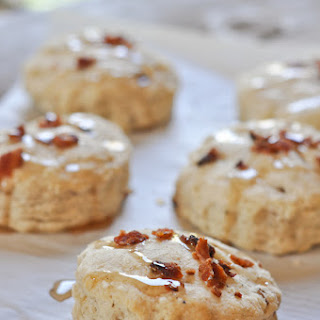 Maple Biscuits with Bacon and Black Pepper