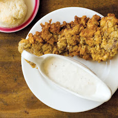 Chicken-Fried Steak with Cream Gravy Recipe
