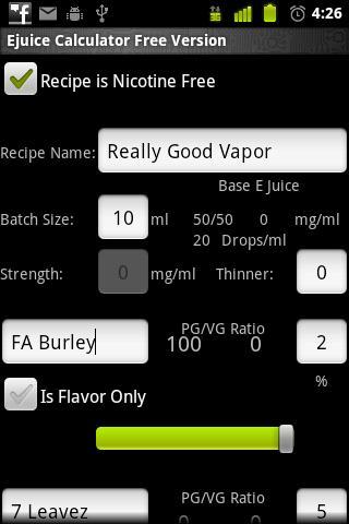 工具必備APP下載|E Juice Calculator 好玩app不花錢|綠色工廠好玩App