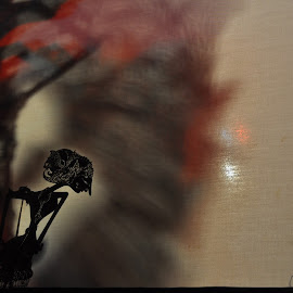 Wayang by Badroe Zaman - Artistic Objects Antiques ( shadow, traditional, antique, culture, wayang )