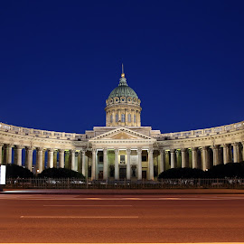 by Kseniya Maksimenko - Buildings & Architecture Statues & Monuments ( night, city )
