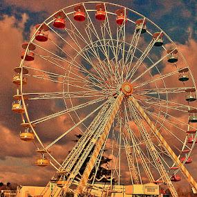 Wheel of Tours by Ciprian Apetrei - City,  Street & Park  Amusement Parks ( wheel, amusement park, public, city park, tours,  )