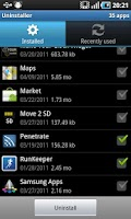 Screenshot of Instant Uninstaller