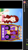 Screenshot of Princess dress up games