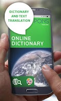 Screenshot of PONS Online Dictionary