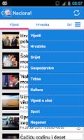 Screenshot of Hrvatska Vijesti