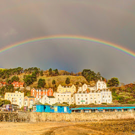Great Orme Rainbow by Dylan Barlow - Novices Only Landscapes ( great orme, north wales, wales, cymru, rainbow, llandudno,  )