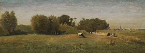RIJKS: Paul Joseph Constantin Gabriël: painting 1870