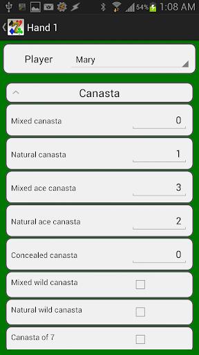 Canasta Score Pro - screenshot