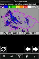 Screenshot of Meteoservis