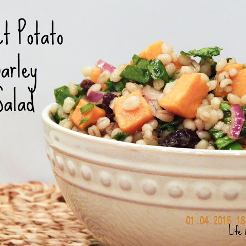Sweet Potato Barley Salad